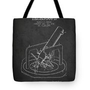 Astronomical Telescope Patent From 1943 - Dark Tote Bag