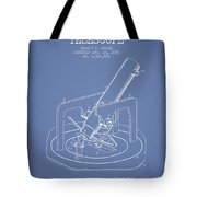 Astronomical Telescope Patent From 1943 - Light Blue Tote Bag