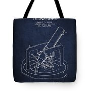 Astronomical Telescope Patent From 1943 - Navy Blue Tote Bag