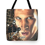 Doctor Who - Asylum Of The Daleks Tote Bag
