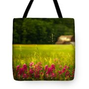 At A Distance Tote Bag