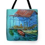 At Boat House Tote Bag