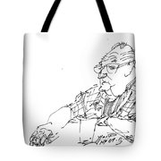 At Coffee Table Tote Bag