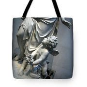 At Her Feet In A Garden Allegory Tote Bag