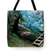 At Home In Her Forest Keep - Pacific Northwest Tote Bag