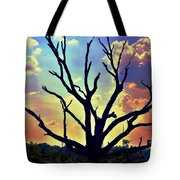 At Life's End There Is Light Tote Bag