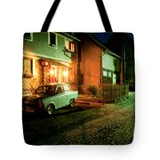 At Night In Thuringia Village Germany Tote Bag