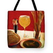 At Our Italian Restaurant Tote Bag