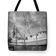At Rest In The Harbor Tote Bag