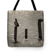 Seadrift Texas Birds At Rest Tote Bag