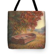At Rest Tote Bag by Lucie Bilodeau