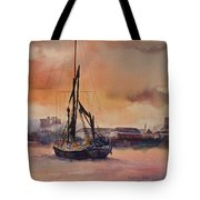 At Rest On The Thames London Tote Bag