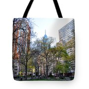 At Rittenhouse Square Tote Bag