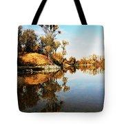 At Rivers Bend Tote Bag