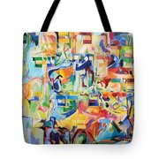at the age of three years Avraham AVine recognized his Creator 5 Tote Bag