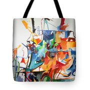 at the age of three years Avraham Avinu recognized his Creator 2 Tote Bag