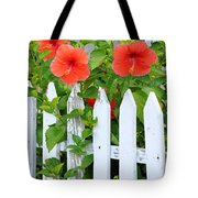 At The Back Gate Tote Bag