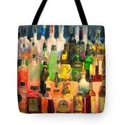 At The Bar 2 Tote Bag