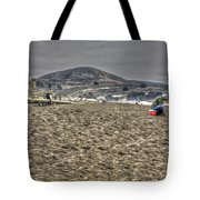 At The Beach At Pacifica Tote Bag
