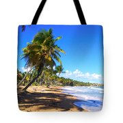 At The Beach Palmas Del Mar Tote Bag