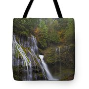 At The Bottom Of Panther Creek Falls Tote Bag