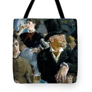 At The Cafe Concert Tote Bag