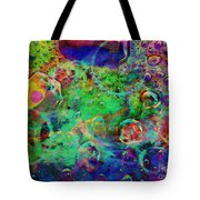 At The Cellular Level Tote Bag