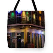 At The  Club On Bourbon Tote Bag