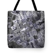 At The Crossing Tote Bag