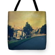 At The Curve Tote Bag