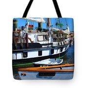 At The Docks Tote Bag