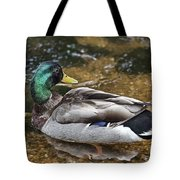 At The Duck Pond V5 Tote Bag