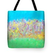 At The Edge Of The Field Tote Bag