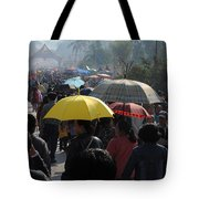 At The Elephant Festival Tote Bag