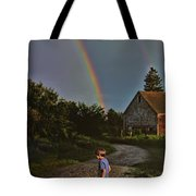 At The End Of A Rainbow Tote Bag