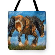 At The End Of The Day Tote Bag by David Stribbling