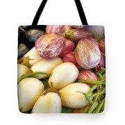 At The Farmers Market Tote Bag