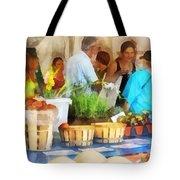 At The Farmer's Market Tote Bag