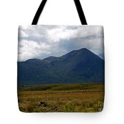 At The Foot Of The Mountain Tote Bag