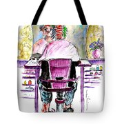 At The Hairdresser Tote Bag