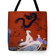 At The House Of Pasotz Tote Bag