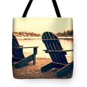 At The Lake Tote Bag by Edward Fielding