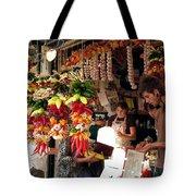 At The Market Tote Bag