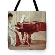 At The Piano Tote Bag