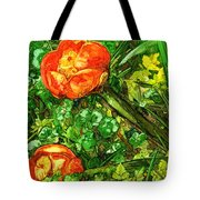 At The Pond's Edge Tote Bag