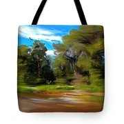 At The River's Edge Tote Bag