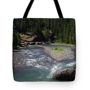 At The River's Heart Tote Bag
