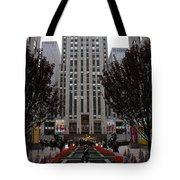 At The Rockefeller Center Tote Bag