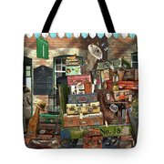 At The Train Station Tote Bag