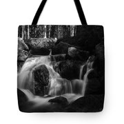 at the upper Bodefall, Harz Tote Bag